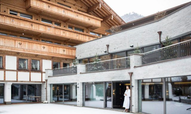 elisabeth hotel mayrhofen aussen alpen - Rückzugsort für Seele und Sinne - das Hotel Elisabeth Mayrhofen