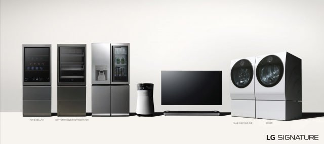 Bild LG SIGNATURE Produkt lineup 640x285 - Designtrends bei TV & Heimelektronik: LG Signature
