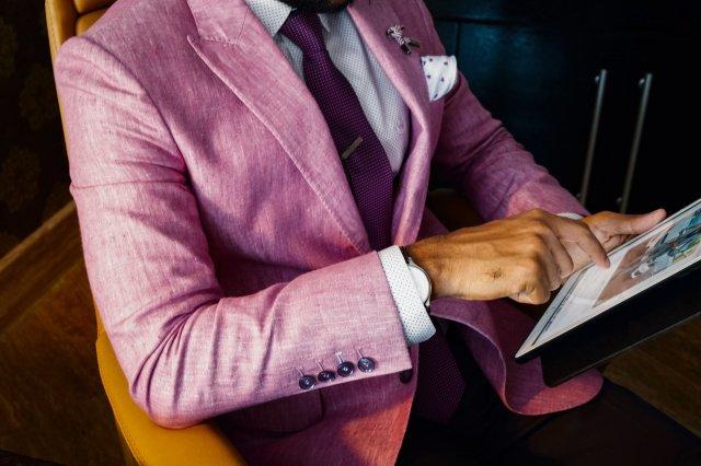 anzugmode farbe rose - Steckt der Anzug in der Krise? Das ist die neue Mode bei Anzügen!