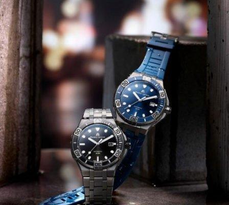 maurice lacroix aikon venturer armbanduhr blau 448x400 - Aikon Venturer von Maurice Lacroix: Zeitmesser für Individualisten