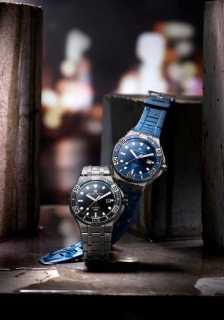 maurice lacroix aikon venturer armbanduhr blau - Aikon Venturer von Maurice Lacroix: Zeitmesser für Individualisten