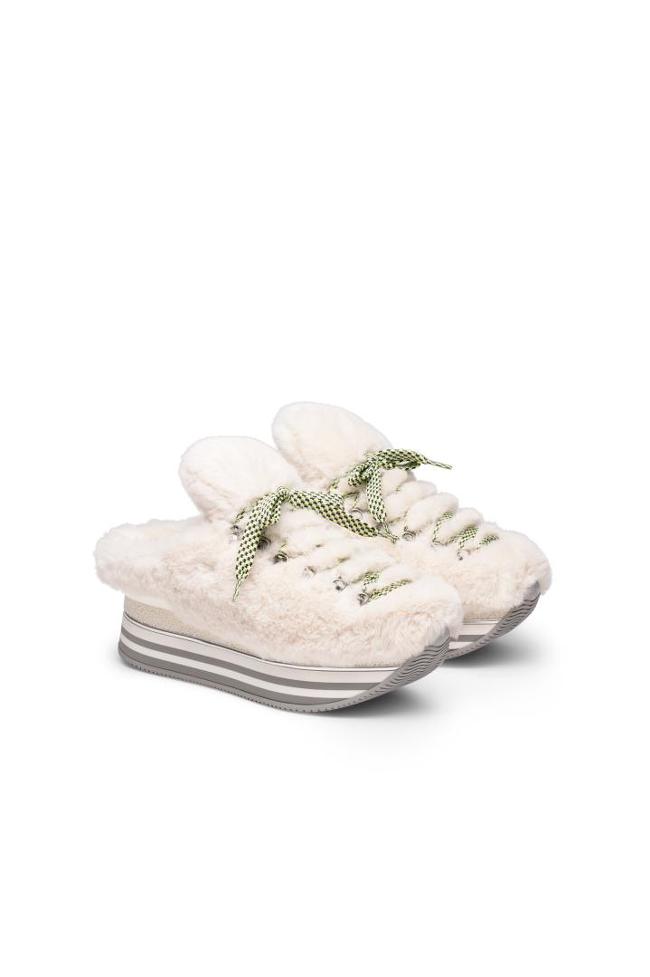 Hogan Plateau Sneaker - Stylische Plateau-Sneakers für Damen in vielen verschiedenen Farben erhältlich