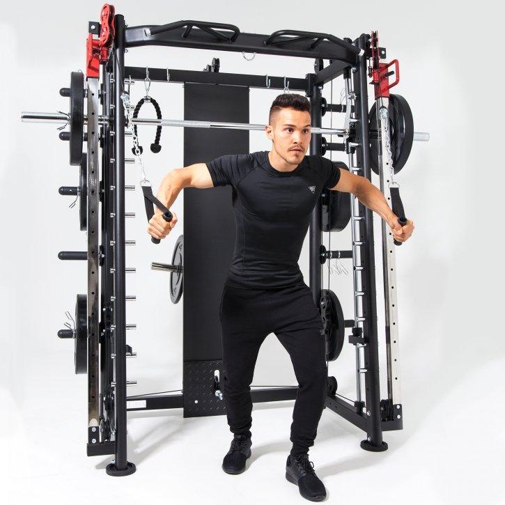 Multifunction Smith Machine Kraftstation Zuhause - Luxus-Fitnessgeräte für Zuhause