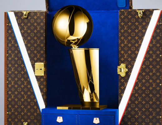 NBA Louis Vuitton Larry O Brien Trophy 520x400 - NBA Throphäe: Louis Vuitton trifft auf Tiffany bei Larry O'Brien Trophy