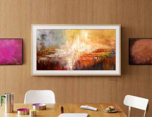 """samsung the frame test erfahrungen tv 520x400 - Ist das Kunst oder kann man damit Fernsehen? Samsung TV 50"""" QLED 4K The Frame"""