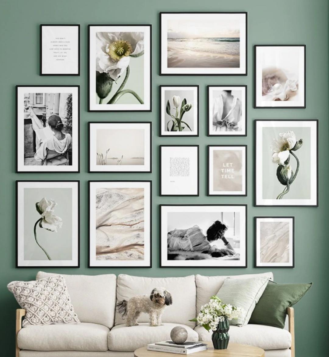 bilderwaende posterwaende dekoration 1080x1174 - Bilderwände gestalten für modernes Wohnflair