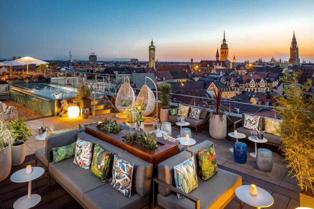 munich dining perrier jouet lounge july2020 1024x683 - Mandarin Oriental München – neues Design & mehr Nachhaltigkeit