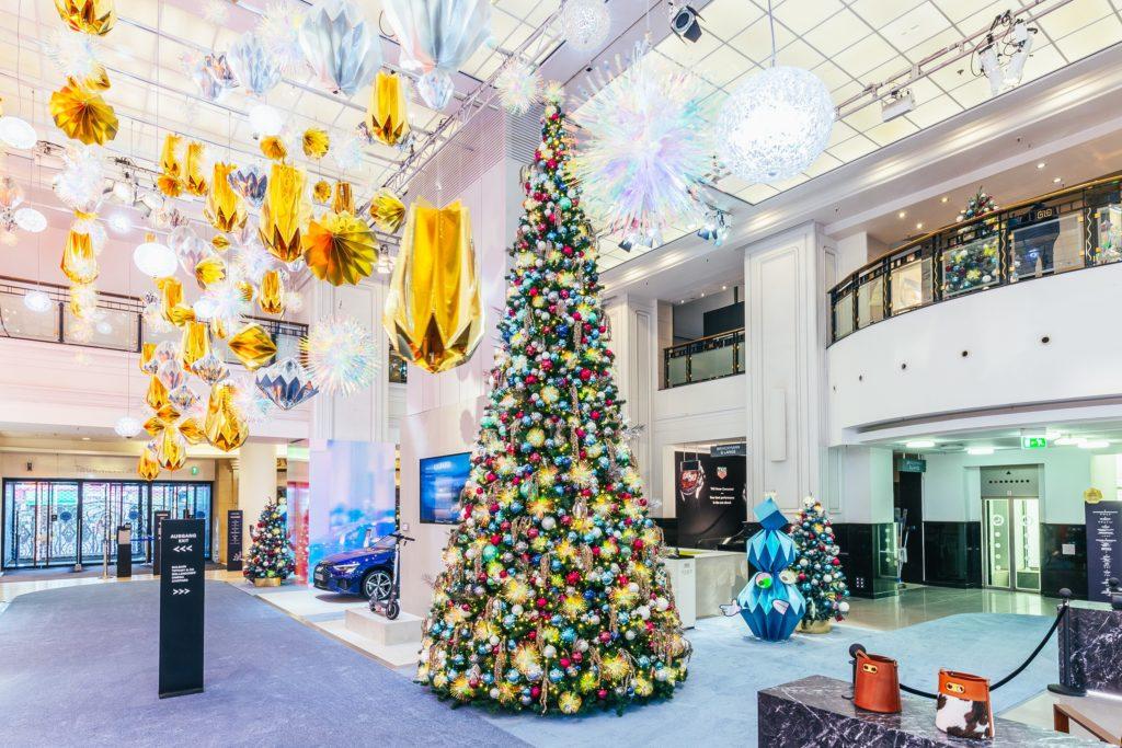 A Cosmic Christmas KaDeWe Atrium Foto©offenblende 1 1024x683 - Galaktisch schöne Weihnachtszeit im KaDeWe, Alsterhaus & Oberpollinger
