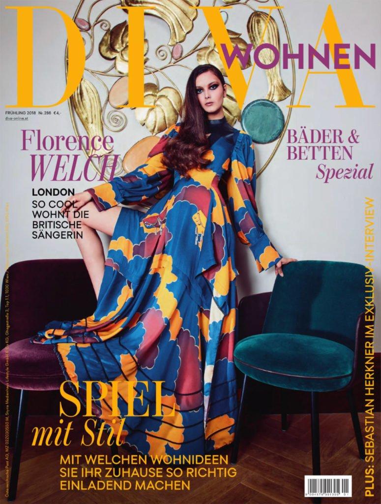 DIVA Wohnen Magazin Oesterreich Wohnmagazin 775x1024 - Top 10 Luxus Magazine & Zeitschriften in Deutschland, Österreich und Schweiz