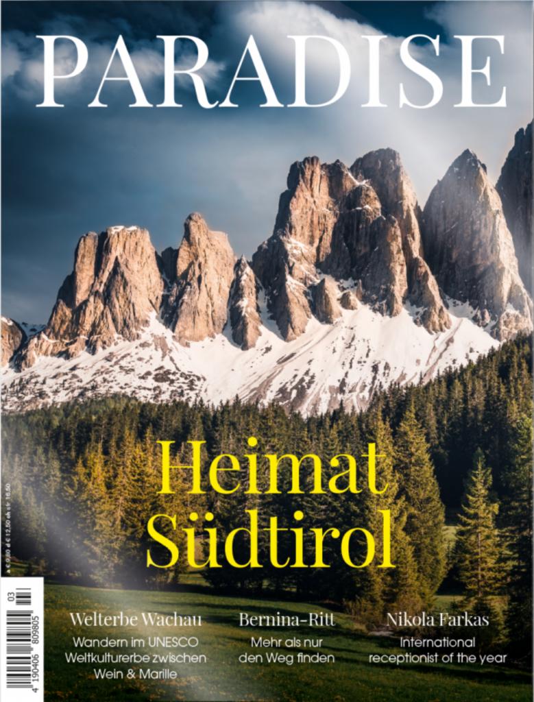 paradise luxus reisemagazin 779x1024 - Top 10 Luxus Magazine & Zeitschriften in Deutschland, Österreich und Schweiz