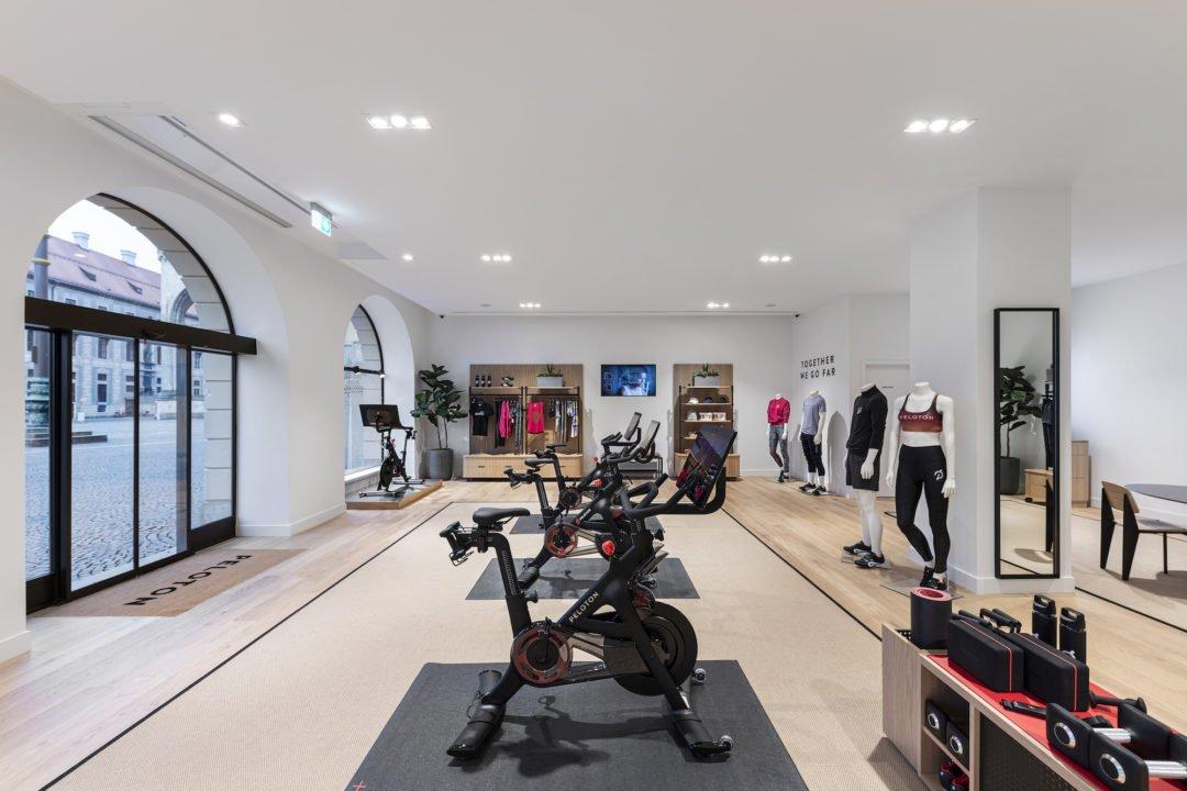 Peloton Store Muenchen Shop Showroom Odeonsplatz 2 1080x720 - Peloton München: Neuer Showroom eröffnet