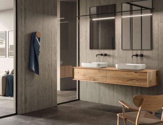 Waschtisch unterschrank Badmoebel Univo plus Eiche micato massiv 520x400 - Das sind die 3 wichtigsten Badmöbel Trends für 2021