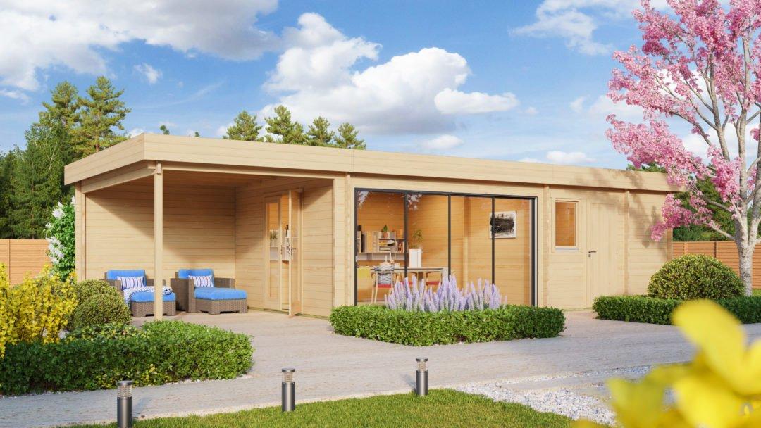 Gartenhaus Holz St Moritz Saunahaus 1080x608 - Gartenhaus kaufen? Das ist die beste Zeit dafür!