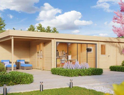 Gartenhaus Holz St Moritz Saunahaus 520x400 - Gartenhaus kaufen? Das ist die beste Zeit dafür!