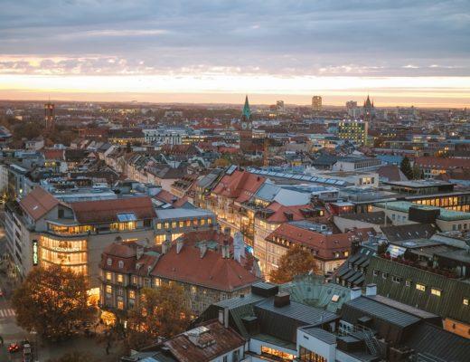 Dächer von München