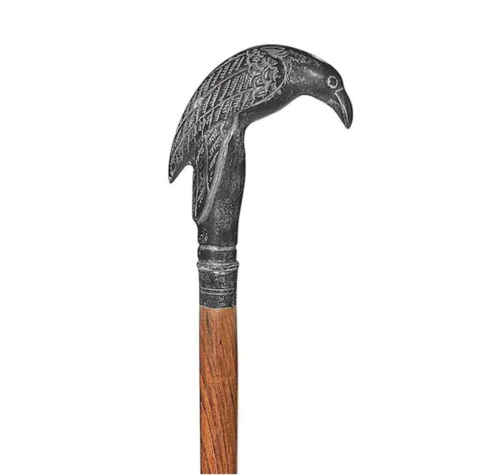 spazierstock rabe gehstock holz metall silber 1024x975 - Gehstock: Der edle Spazierstock ist zurück als Luxus-Accessoire aus Holz und Silber