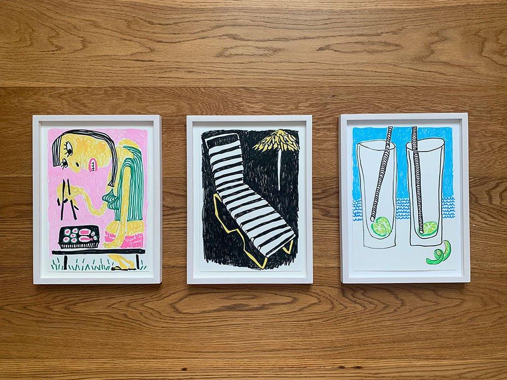 Katharina arndt serviervorschlag 4 - Artflash – zeitgenössische Kunst online kaufen