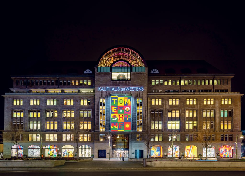TIME TO SHINE KaDeWeGroup KaDeWe Fassade 1024x737 - Time to Shine: Street Art in den Innenstädten