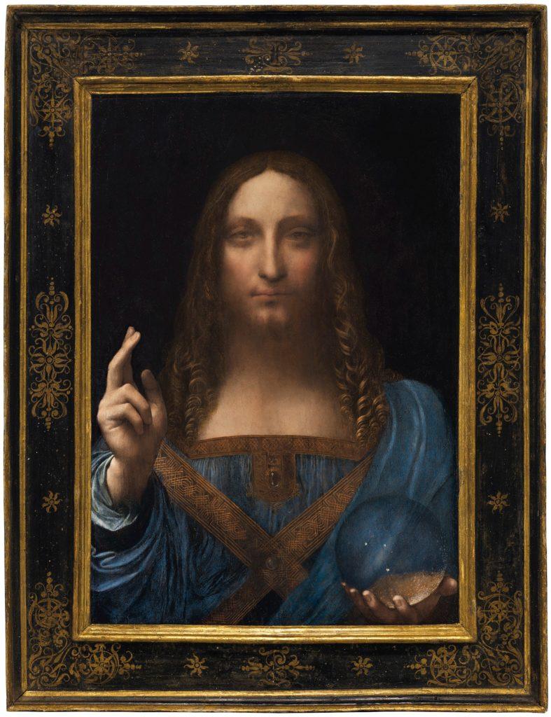 2048px Leonardo da Vinci or Boltraffio attrib Salvator Mundi circa 1500 787x1024 - Das teuerste Gemälde der Welt