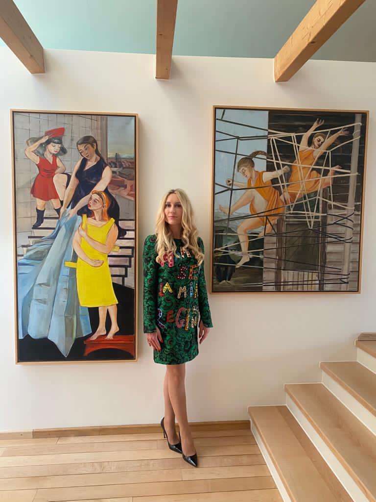 A Wildmoser Bilder Rosa Loy  - Andrea Wildmoser: Von der Hotelbesitzerin zur Kunstliebhaberin