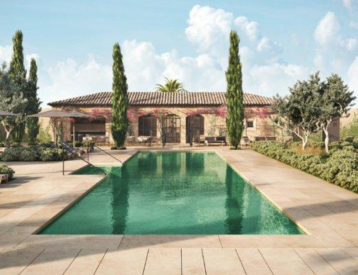 Pool rendering 520x400 - Boutique-Hotel Can Ferrereta - Luxus im Südosten von Mallorca