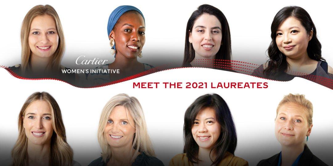 CWI 2021 Laureates 1080x539 - Gewinnerin Cartier Women's Initiative 2021