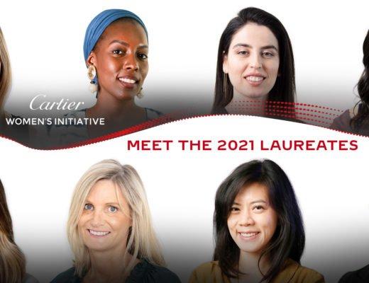 CWI 2021 Laureates 520x400 - Gewinnerin Cartier Women's Initiative 2021