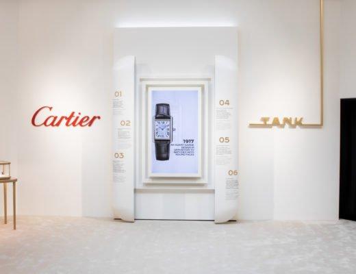 Cartier Tank exhibition Muenchen 1 520x400 - Noch bis zum 24. Juli: Cartier Tank Exhibition in München