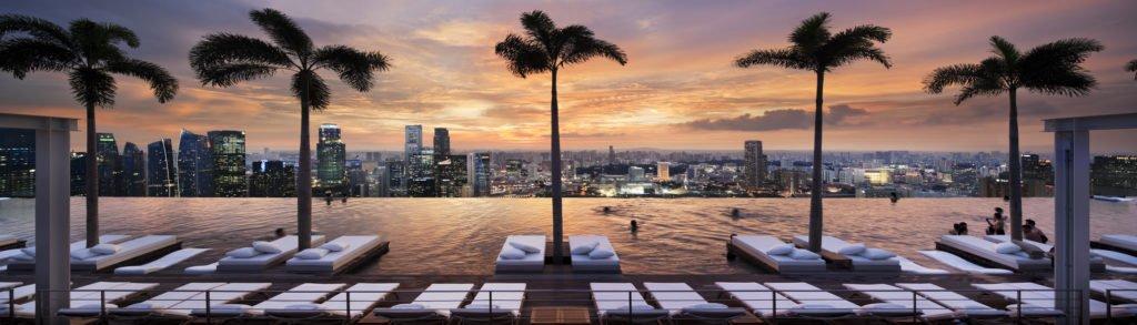 Marina Sands Bay Singapur Pool 1024x293 - Die spektakulärsten Pools der Welt