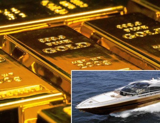 History Supreme Yacht aus purem Gold