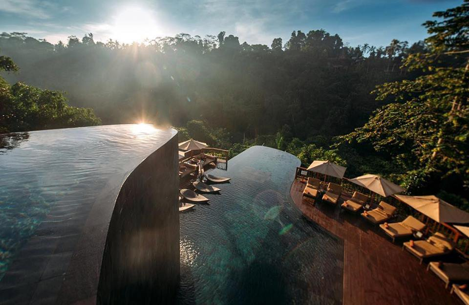 ubud hanging gardens bali pool - Die spektakulärsten Pools der Welt