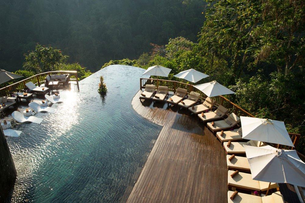ubud hanging gardens bali pool2 - Die spektakulärsten Pools der Welt