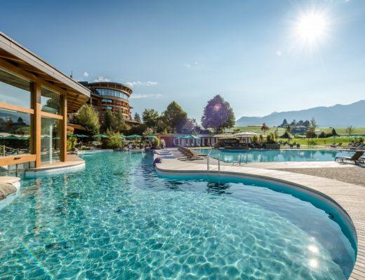 Sonnenalp Resort Spa Pool