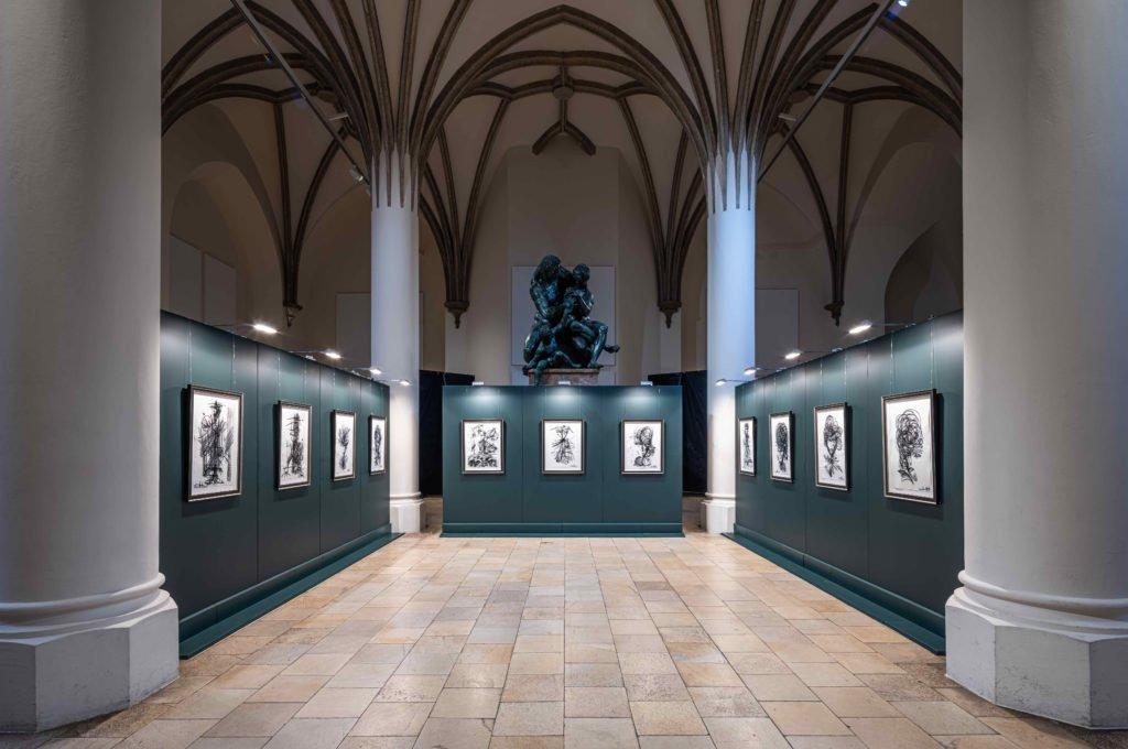 """210826 Leon Loewentraut Nationalmuseum Muenchen 09 1024x680 - Leon Löwentraut: Ausstellung """"Leonismo"""" in München"""