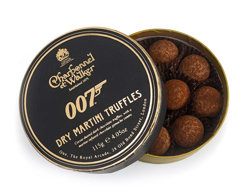 007 Dry Martini Truffles - James Bond zum Vernaschen - 007 Trüffel & Champagner