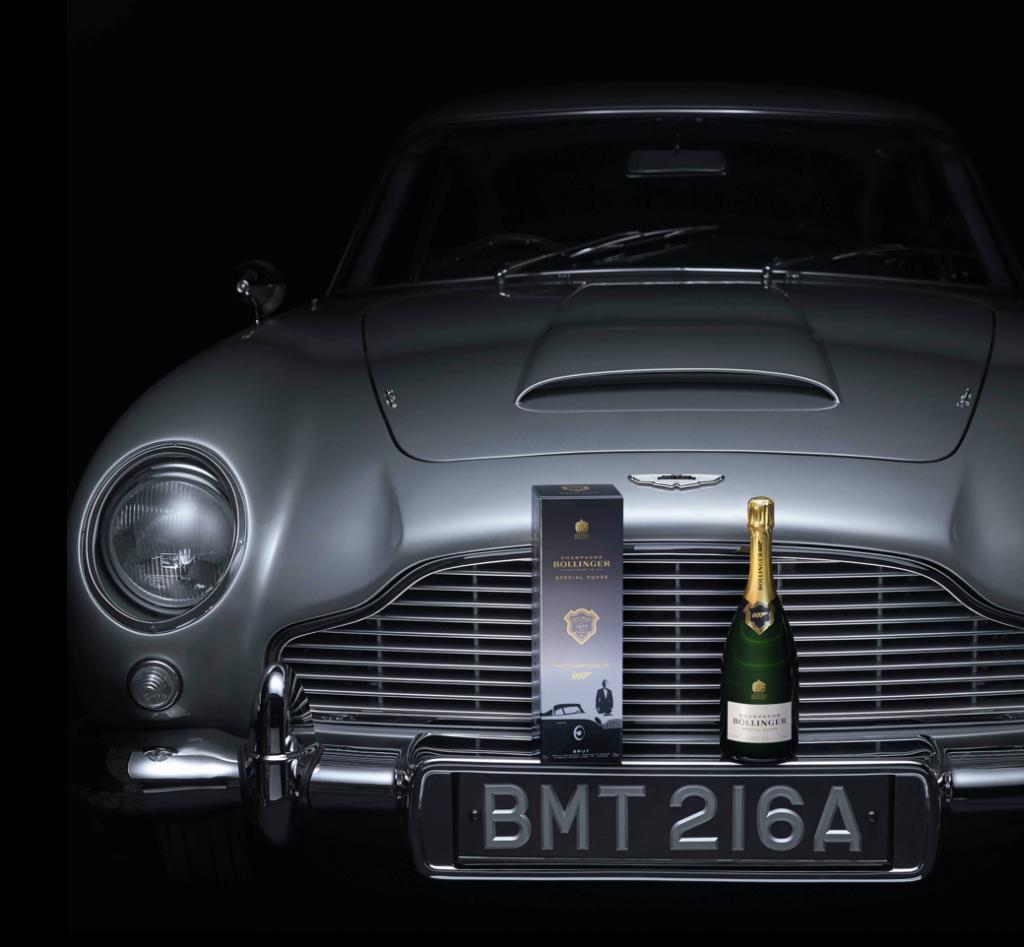 BOLLINGER Edition 007 1024x947 - James Bond zum Vernaschen - 007 Trüffel & Champagner