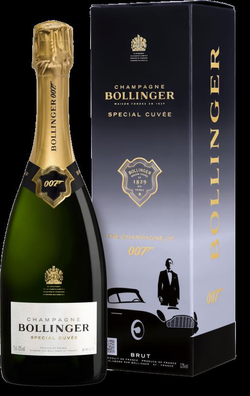Bollinger Champagner James Bond - James Bond zum Vernaschen - 007 Trüffel & Champagner