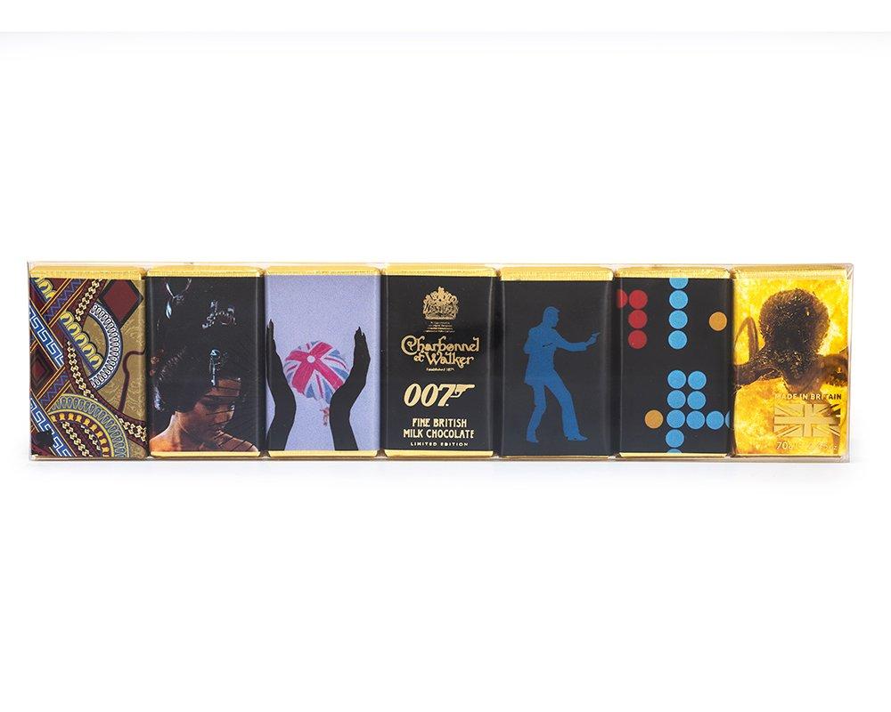 Charbonnel et Walker Schokolade James Bond - James Bond zum Vernaschen - 007 Trüffel & Champagner