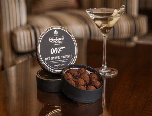 Charbonnel et Walker Truffel 1 520x400 - James Bond zum Vernaschen - 007 Trüffel & Champagner