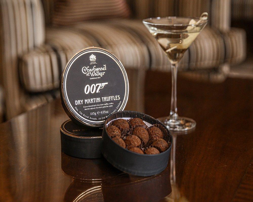 Charbonnel et Walker Truffel 1 - James Bond zum Vernaschen - 007 Trüffel & Champagner