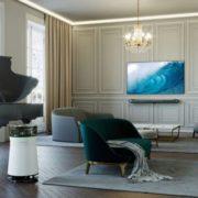 Designtrends bei TV & Heimelektronik: LG Signature