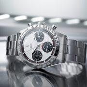 "Rolex Cosmograph Daytona mit ""Paul-Newman-Ziffernblatt""."