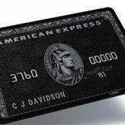 Die Schwarze American Express Card – der Ferrari unter den Kreditkarten